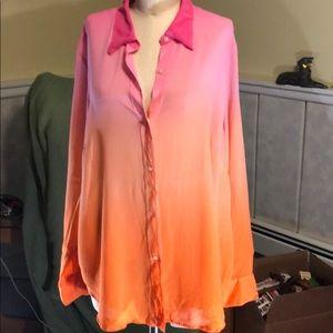 Lauren ombré blouse